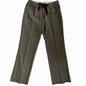MaxMara Weekend Tweed Wool Blend Modern Trouser